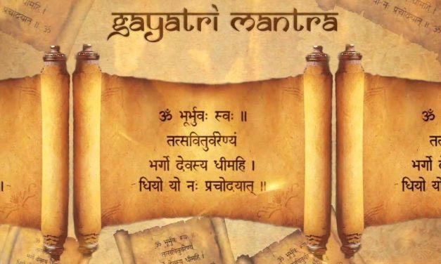 @ El poder y la potencia del Gayatri Mantra